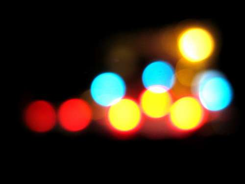 Bokeh Colors Colorful Blurred Soft Abstract