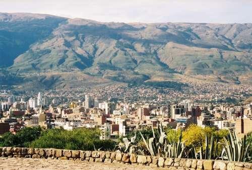 Bolivia Cochabamba Andes Mountains Landscape