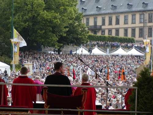 Bonifatiusfest Fulda Worship Christian Holy Church