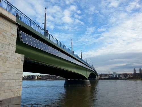 Bonn Bridge Solar Panels Air Water