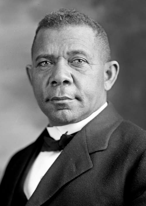 Booker T Washington Man Person Portrait Educator