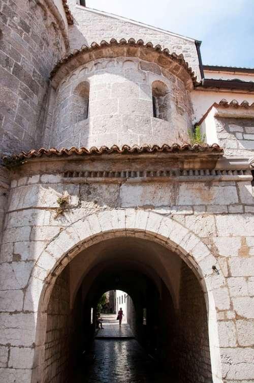 Borgo Croatia Istria August