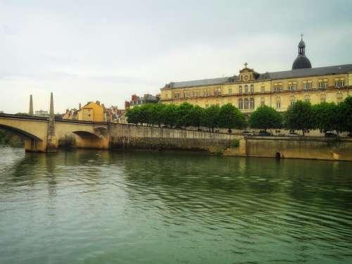 Borgone France City Cities Urban Skyline