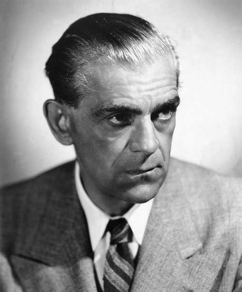 Boris Karloff Actor Frankenstein Monster Vintage