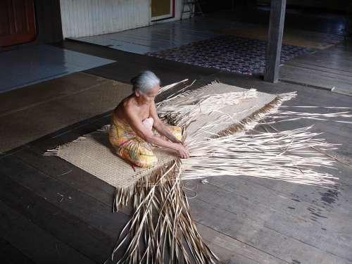 Borneo Longhouse Malaysia Tradition Sarawak Native