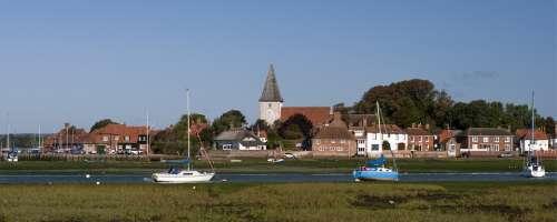 Bosham Harbour West Sussex England Church Quay