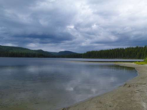 Bosk Lake British Columbia Canada Weather