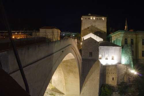 Bosnia And Herzegovina Herzegovina Mostar Old Bridge