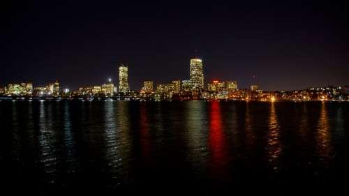 Boston Charles River Massachusetts River Skyline