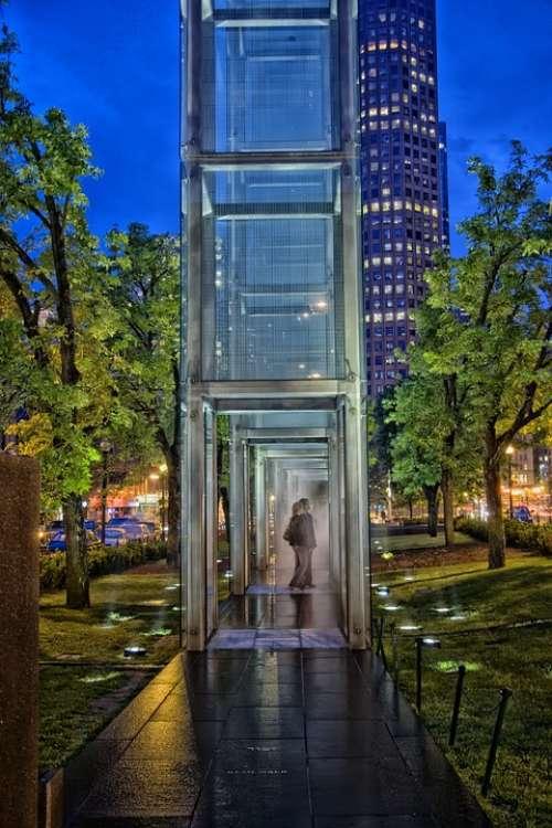 Boston Massachusetts Holocaust Memorial Downtown