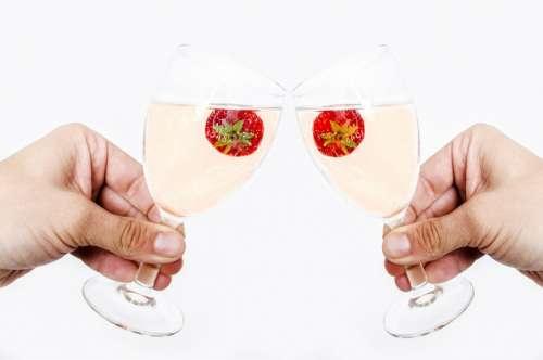 Bottle Toast Celebration New Year Glass Time