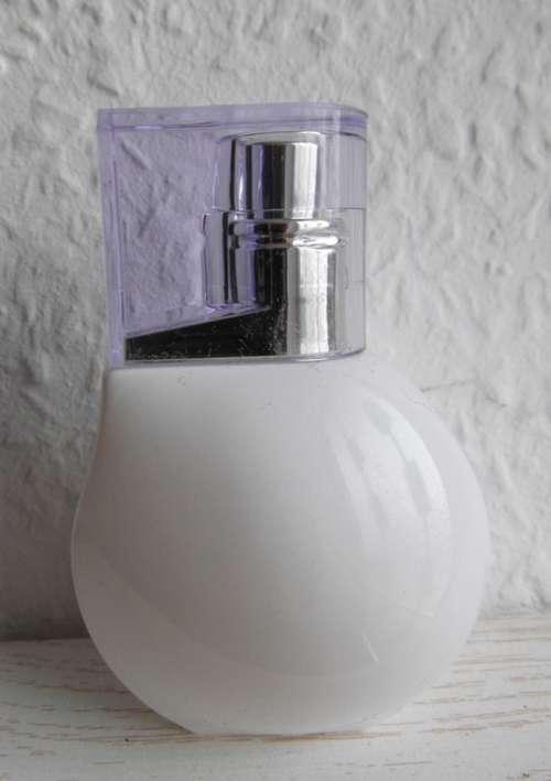 Bottle Perfume Ceramic White