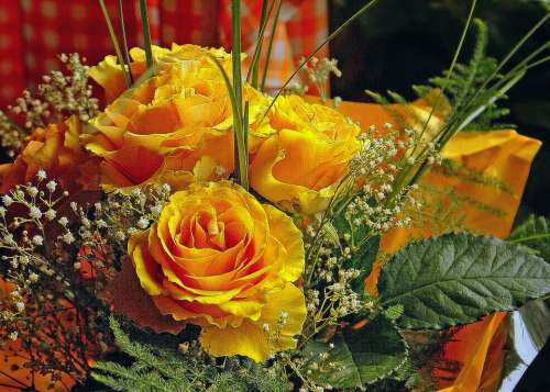 Bouquet Of Flowers Bouquet Of Roses Bunch Of Flowers