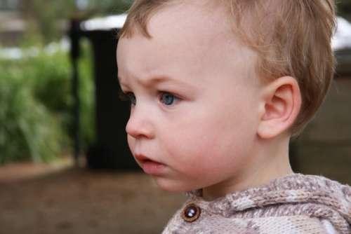 Boy Little Boy Baby Portrait Face Child