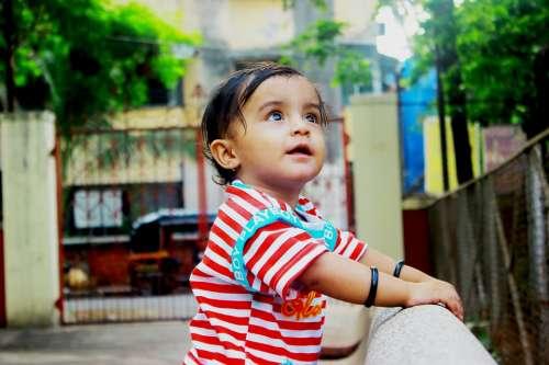 Boy Cute Child Infant Indian Asian Kid Childhood