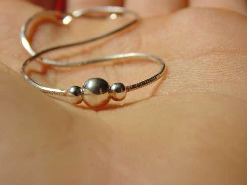 Bracelet Silver Hand