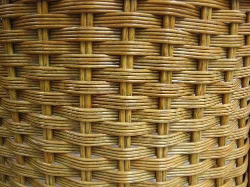 Braid Pasture Basket Texture Structure Background