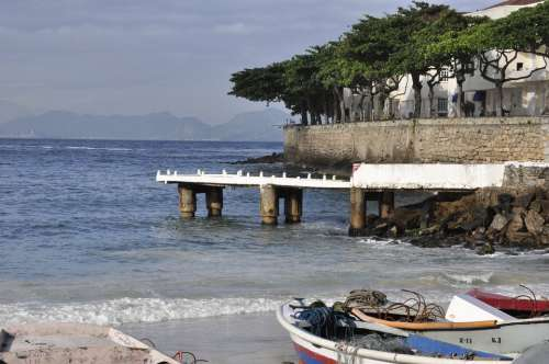 Brasil Bb Rio De Janeiro Sea Beach Brazil