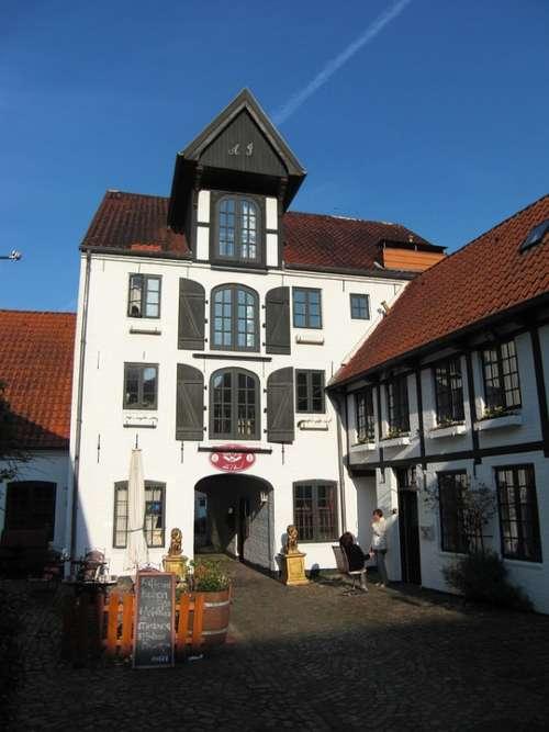 Brasserie Flensburg Hof Warehouse Old Memory