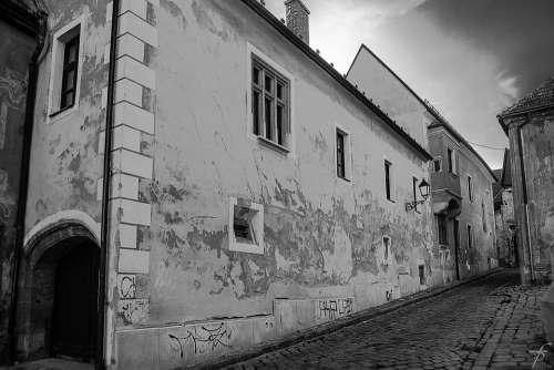 Bratislava Town Historical Building City Streets
