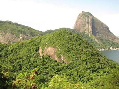 Brazil Rio De Janeiro Mar Sugar Loaf Pão De Açúcar