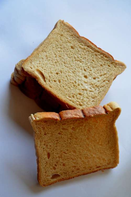 Bread Slices Bread For Toasting Food Nutrition