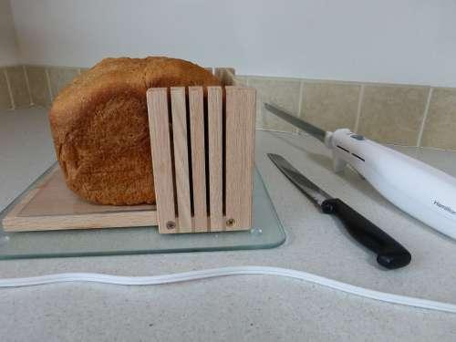 Bread Wheat Loaf Slice Bake Fresh