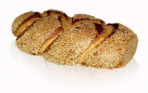 Bread White Bread Sesambrot Sesame Seeds Sesame