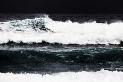 Break Coast Coastal Dangerous Motion Nature Ocean
