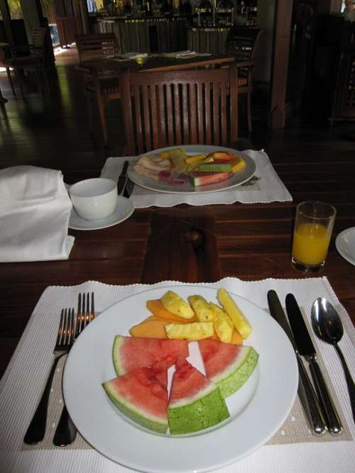 Breakfast Fruit Watermelon Healthy