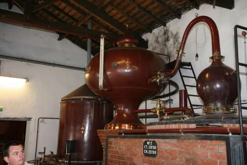 Brewery Cognac Equipment Production Factory France