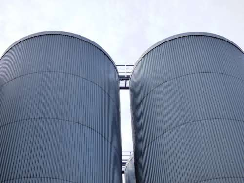 Brewery Tychy Vats Vat Silo The Tank Tanks