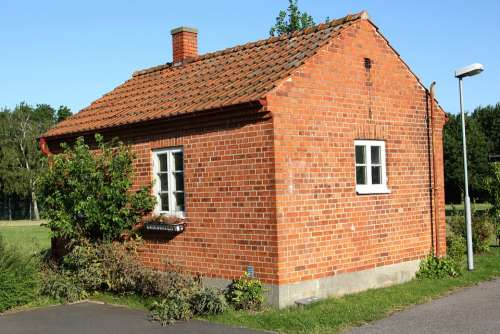 Brick House House Small House