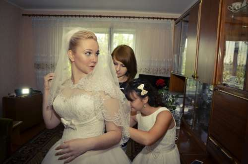 Bridesmaids Wedding Wed Bride Wedding Dress