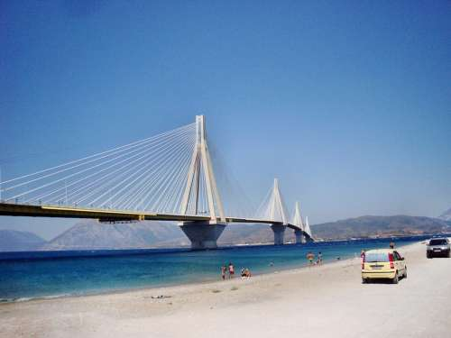 Bridge Patras Greece