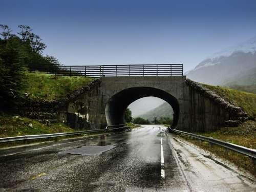 Bridge Architecture Argentina Moisture Rainy