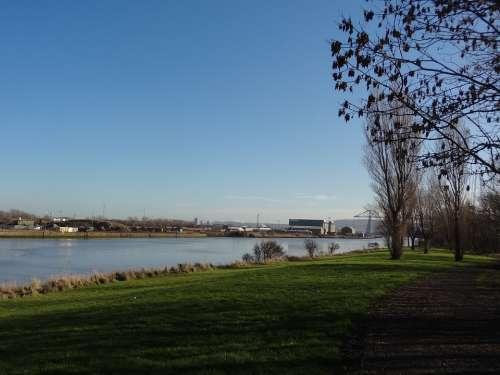 Bridge River Industry Tees Middlesbrough