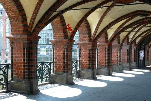 Bridge Architecture Arches Arcades Building