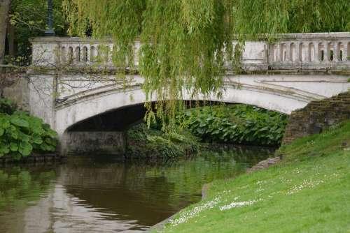 Bridge Reflection Water