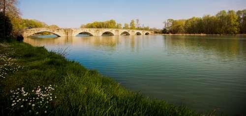 Bridge River Park Italy