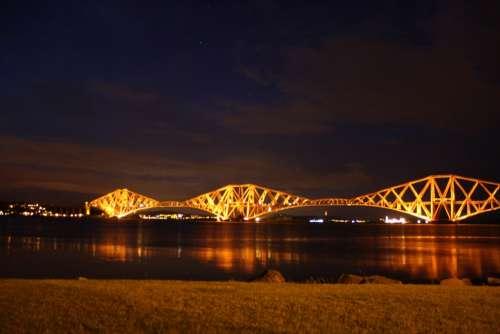 Bridge Scotland Scottish Landmark River