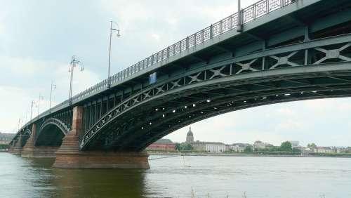 Bridge Steel Bridge Construction Strive Metal Rods