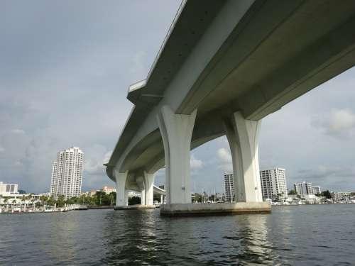Bridge Mar Ocean Clearwater