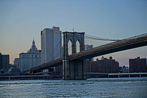Bridge City Structure New York Brooklyn