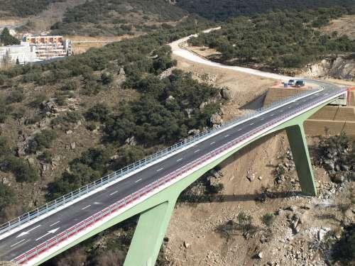 Bridge Construction Civil Works Metallic Bridge