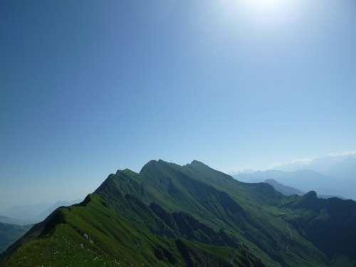 Brienz Rothor Bergtour Summer Alpine