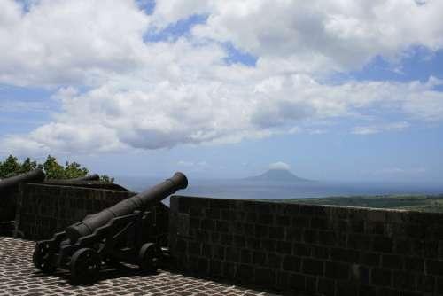 Brimstone Hill Fortres British Fort Canon Military