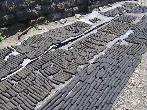 Briquettes Charcoal Coal Fuel Briquette Fire Heat