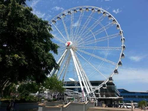 Brisbane Wheel Queensland Tourism Attraction