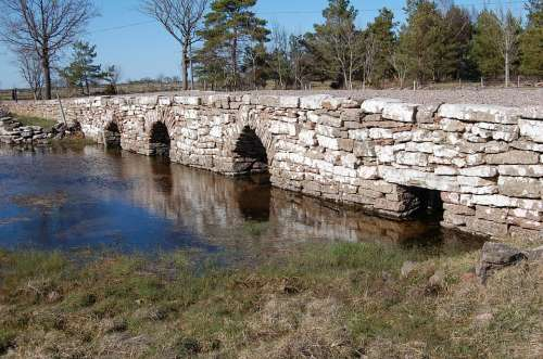 Bro Stone Nature Å Historical